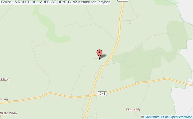 plan association La Route De L'ardoise Hent Glaz