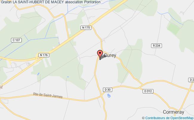 plan association La Saint-hubert De Macey Macey