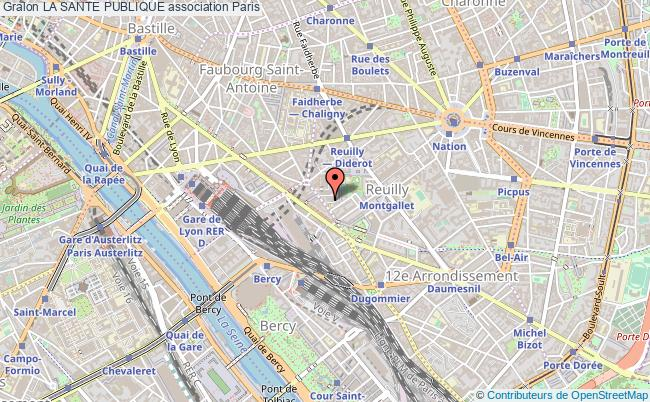 plan association La Sante Publique Paris