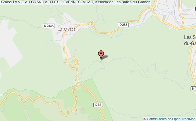 plan association La Vie Au Grand Air Des Cevennes (vgac)