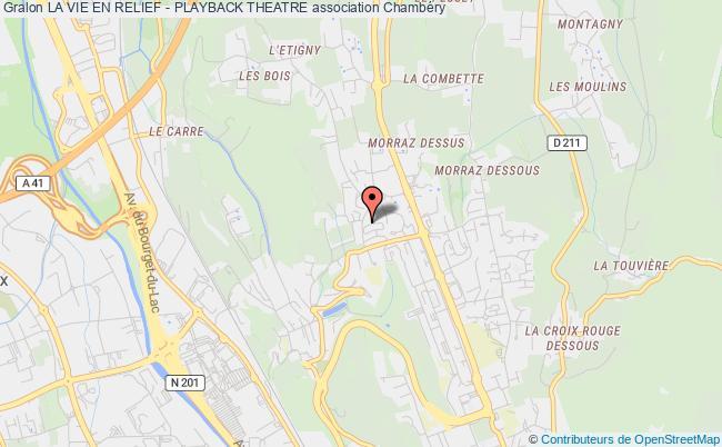 plan association La Vie En Relief - Playback Theatre