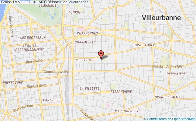 plan association La Ville Édifiante