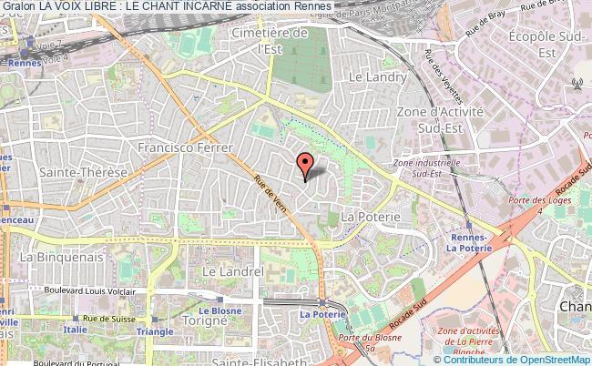 plan association La Voix Libre : Le Chant IncarnÉ