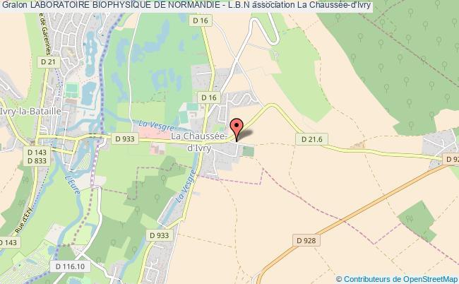 plan association Laboratoire Biophysique De Normandie - L.b.n