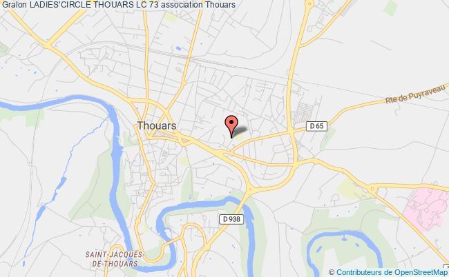 plan association Ladies'circle Thouars Lc 73