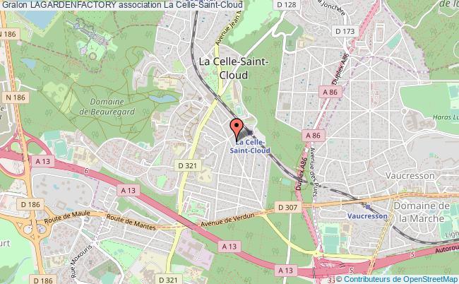 plan association Lagardenfactory Celle-Saint-Cloud