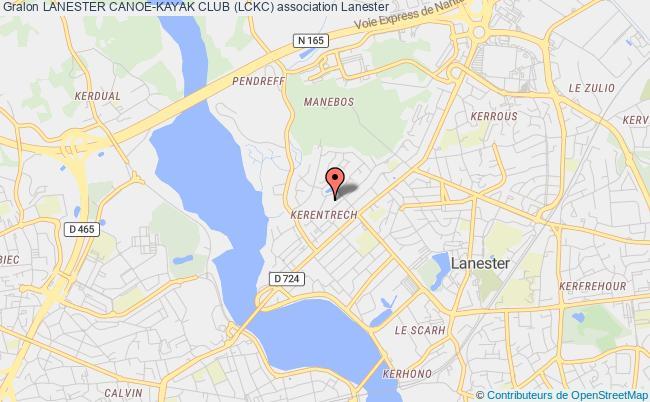 plan association Lanester Canoe-kayak Club (lckc)