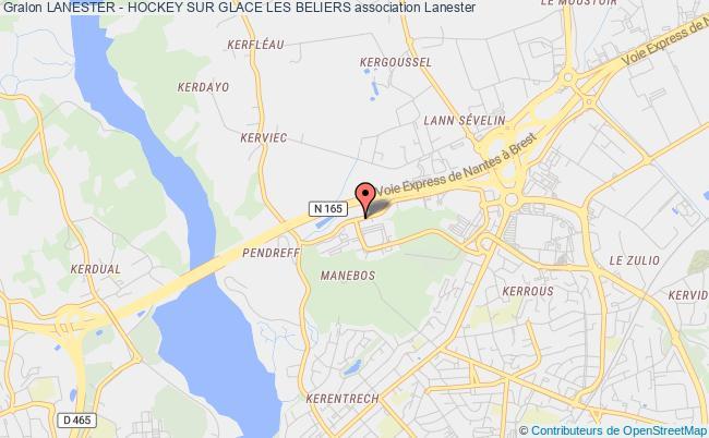plan association Lanester - Hockey Sur Glace Les Beliers
