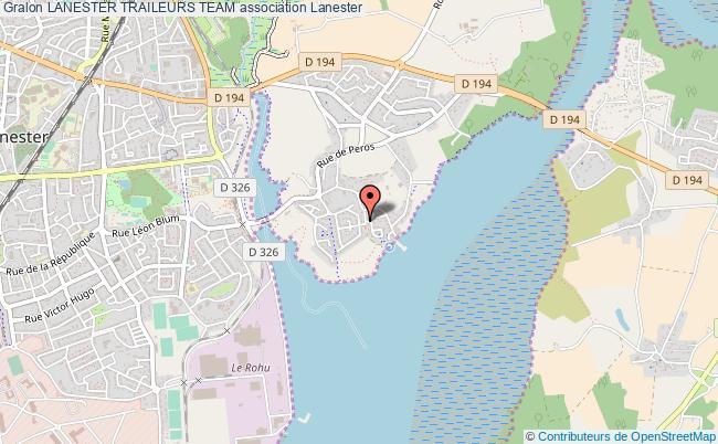 plan association Lanester Traileurs Team