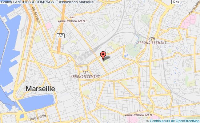 plan association Langues & Compagnie Marseille