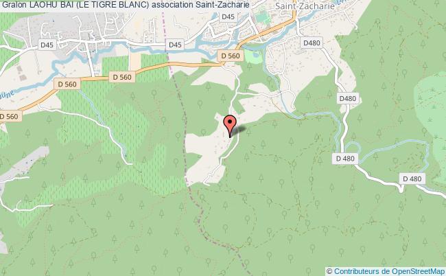 plan association Laohu Bai (le Tigre Blanc)