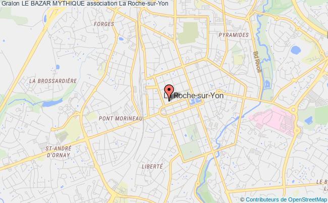 plan association Le Bazar Mythique La    Roche-sur-Yon