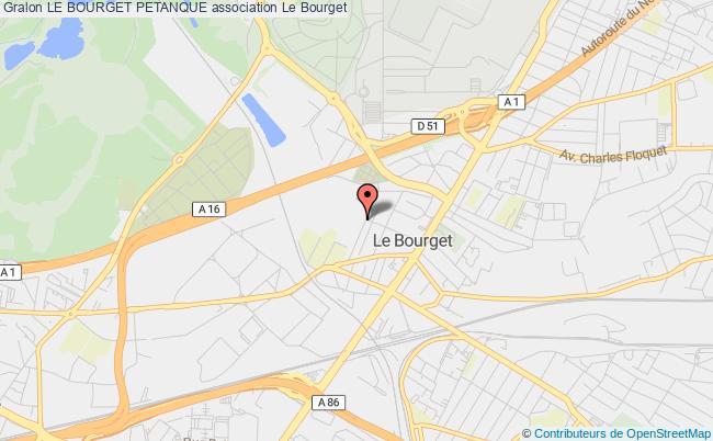 plan association Le Bourget Petanque