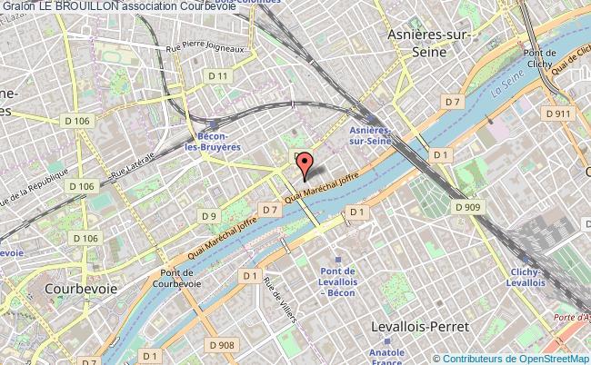plan association Le Brouillon Courbevoie