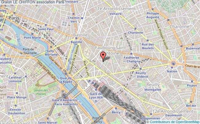 plan association Le Chiffon Paris