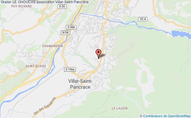 plan association Le Choucas