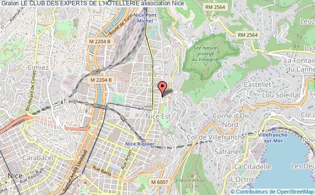 plan association Le Club Des Experts De L'hotellerie