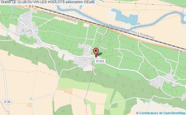 plan association Le Club Du Vin Les Houlots