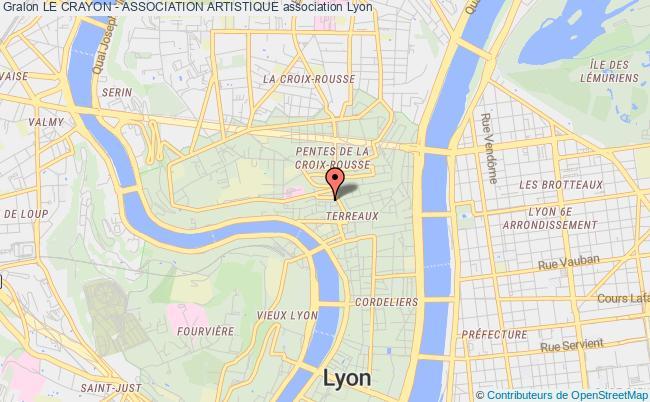plan association Le Crayon - Association Artistique
