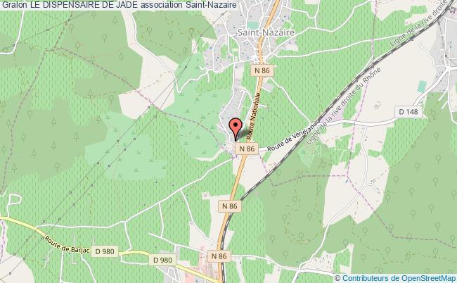 plan association Le Dispensaire De Jade Saint-Nazaire