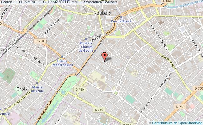 plan association Le Domaine Des Diamants Blancs Roubaix