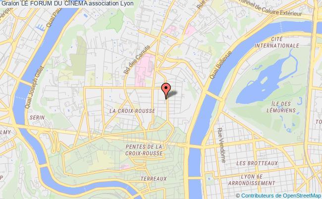 plan association Le Forum Du CinÉma