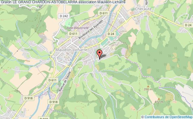 plan association Le Grand Chardon-astobelarra