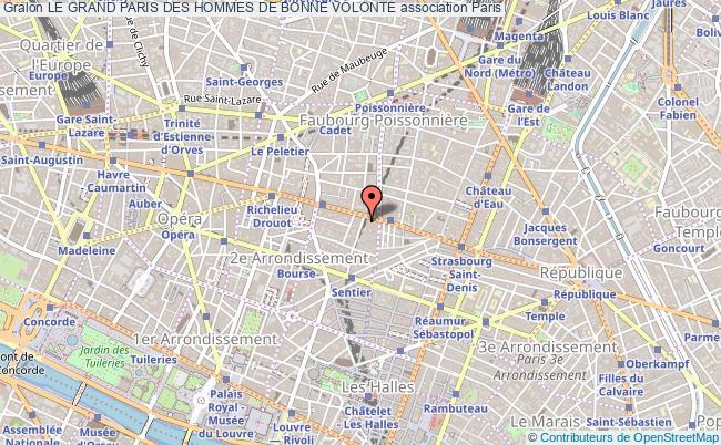 plan association Le Grand Paris Des Hommes De Bonne Volonte