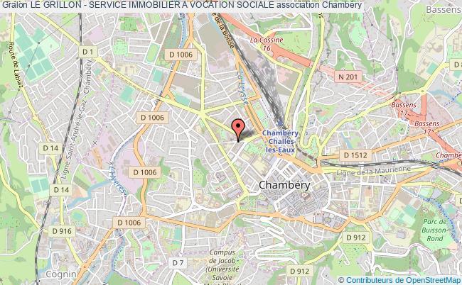 plan association Le Grillon - Service Immobilier A Vocation Sociale