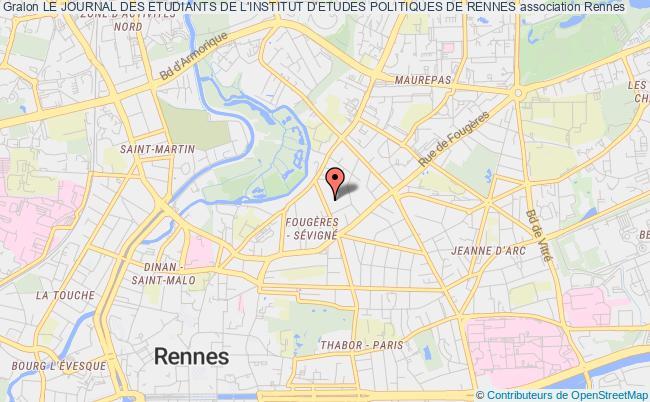 plan association Le Journal Des Etudiants De L'institut D'etudes Politiques De Rennes