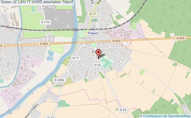 plan association Le Lien 77 Nord