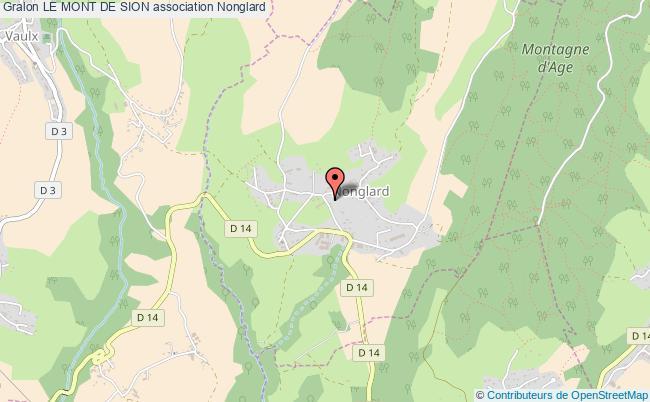 plan association Le Mont De Sion Nonglard