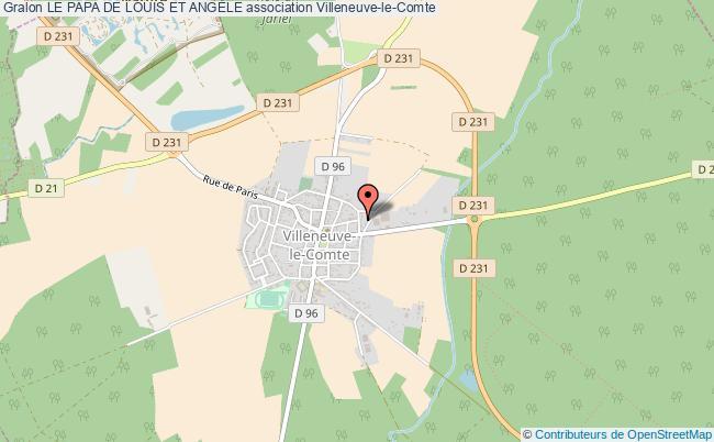 plan association Le Papa De Louis Et AngÈle Villeneuve-le-Comte