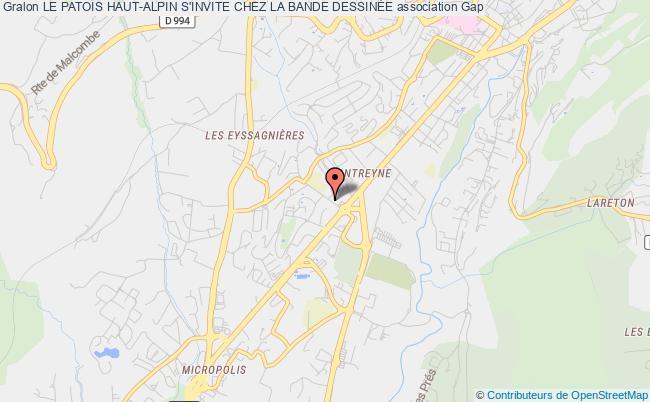 plan association Le Patois Haut-alpin S'invite Chez La Bande DessinÉe