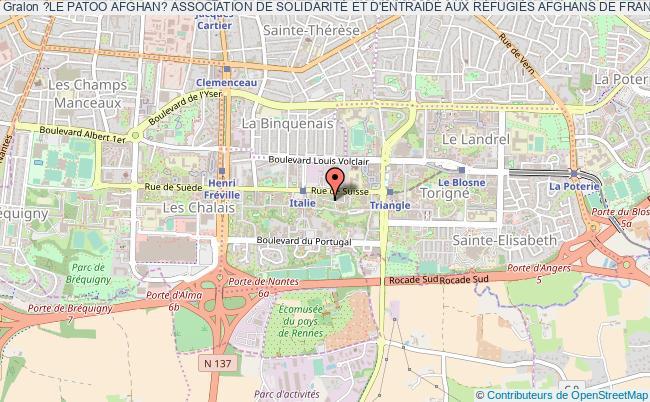 plan association ?le Patoo Afghan? Association De SolidaritÉ Et D'entraide Aux RÉfugiÉs Afghans De France Et D'europe