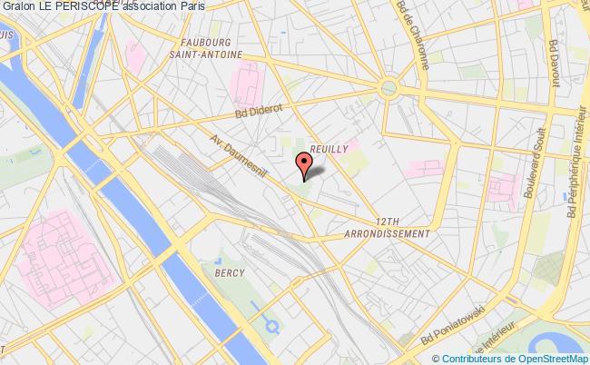 plan association Le Periscope Paris