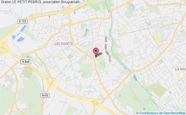 plan association Le Petit Pebrol Bouguenais Cedex