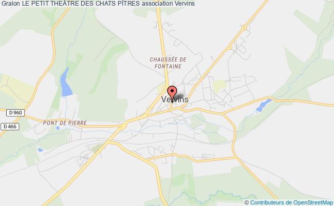 plan association Le Petit TheÂtre Des Chats PÎtres Vervins