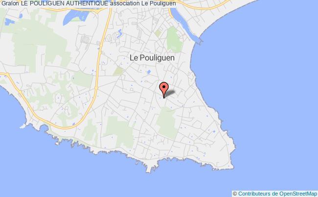 plan association Le Pouliguen Authentique