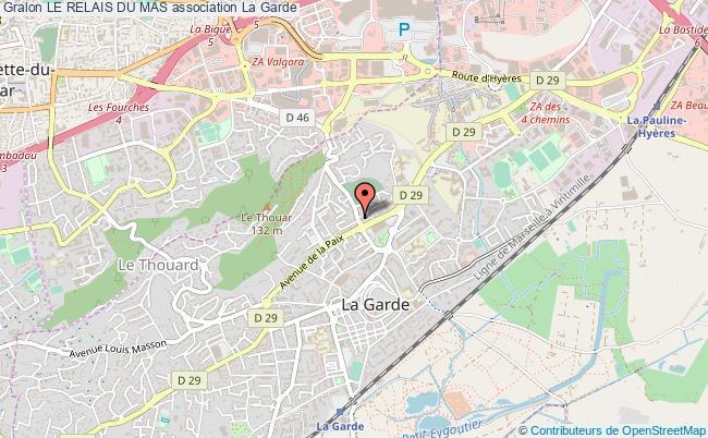 plan association Le Relais Du Mas