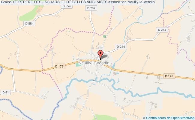 plan association Le Repere Des Jaguars Et De Belles Anglaises Neuilly-le-Vendin