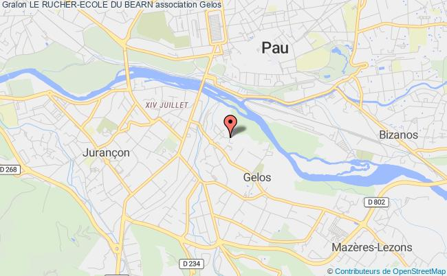 plan association Le Rucher-ecole Du Bearn