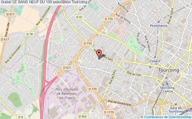 plan association Le Sang Neuf Du 109