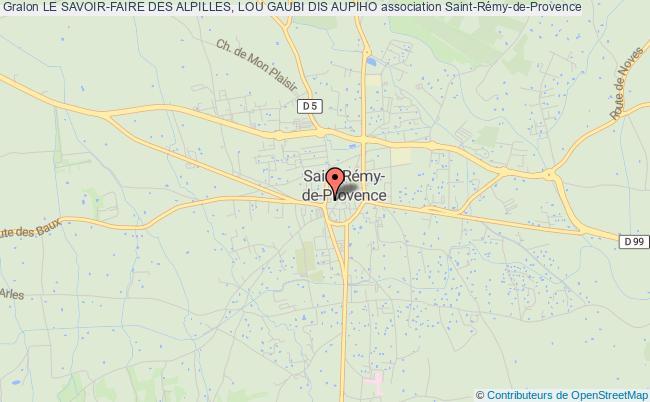 plan association Le Savoir-faire Des Alpilles, Lou Gaubi Dis Aupiho