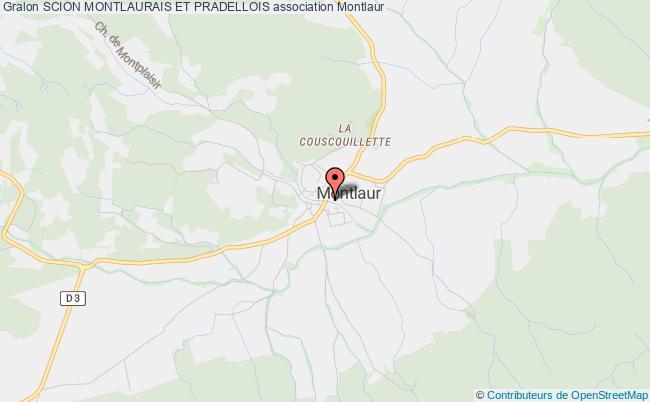 plan association Le Scion Montlaurais