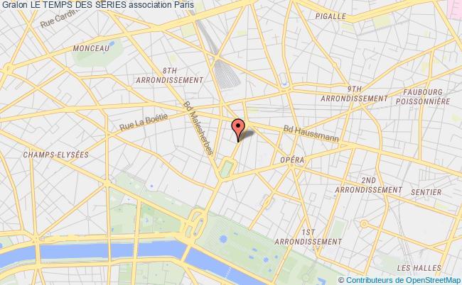 plan association Le Temps Des SÉries