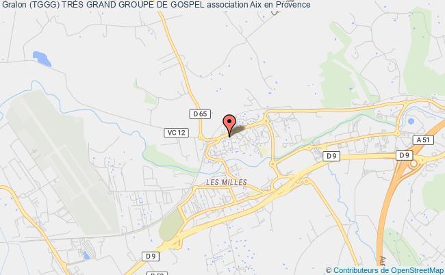 Plan Association Le Tggg Tres Grand Groupe De Gospel Aix En Provence