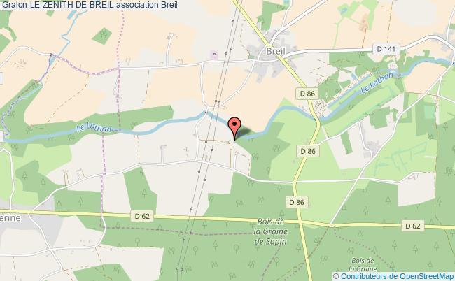 plan association Le Zenith De Breil