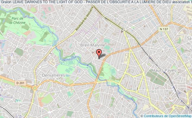 plan association Leave Darknes To The Light Of God - Passer De L'obscurite A La Lumiere De Dieu