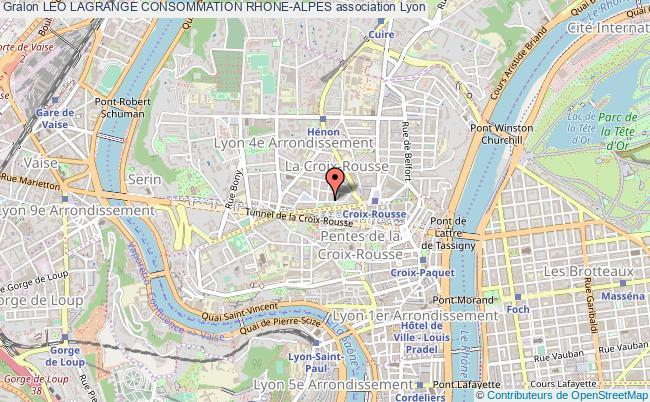 plan association Leo Lagrange Consommation Rhone-alpes